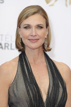 Brenda Strong B.o.B - Brenda Strong's sleek and straight 'do was perfect for an elegant red carpet.