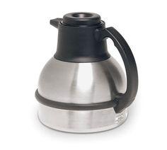 unn Thermal Carafe 1.85 liter - 36029.0001  Thermal Carafe, 1.85 liter (64 oz.), brew-thru lid, vacuum insulation, s/s interior & exterior, ...