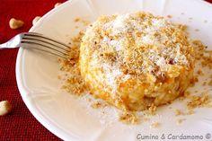 Cumino e Cardamomo: Risotto alla zucca, pancetta e nocciole