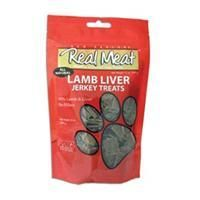 The Real Meat Company Dog Jerky Treats Lamb/Liver 12 oz.