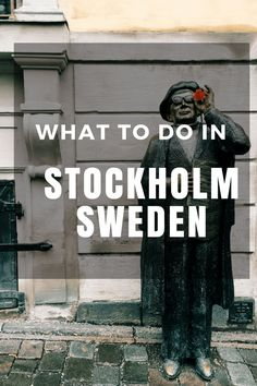 Find out what to see, where to eat, and what to do while you visit Stockholm, Sweden!