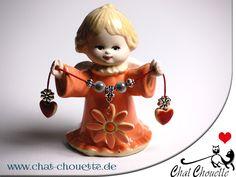 Kleiner Engel aus Keramik von Chat Chouette auf DaWanda.com