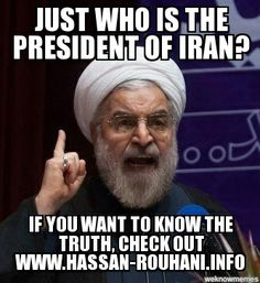 Who is Hassan Rouhani? If you ever wanted to know, you should check out www.hassan-rouhani.info. What you read might surprise you about this self-proclaimed political moderate in Iran.