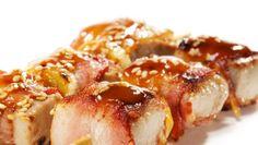 Morský vlk so šalviou v slanine Baked Potato, Potatoes, Baking, Ethnic Recipes, Food, Potato, Bakken, Essen, Meals