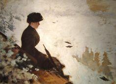 Snow Effect, 1880 Giuseppe de Nittis