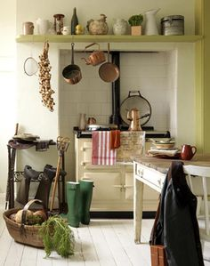 french country kitchen // katie sellers