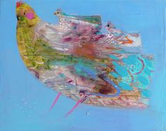 becky blair * artist - paintings: mama chicken