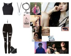 """""""Kimmy // Video // Trying Vape Tricks W/Colby"""" by edgycolby ❤ liked on Polyvore featuring Topshop, Lost & Found, Asha by ADM and T.U.K."""