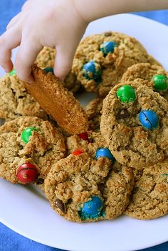 Kitchen Sink Cookies | Annie's Eats -- I have some Archer Farms Monster snack mix that I want to sub for the mix-ins - should be yummy!