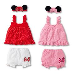 Summer Baby Girls Clothing Set Children Sling T-shirt+shorts+minnie bow bebe Clothes Set For babykleding Newborn Outfits, Toddler Outfits, Girl Outfits, Newborn Clothing, Baby Girl Dresses, Baby Dress, Dot Dress, Baby Girls, Kids Girls
