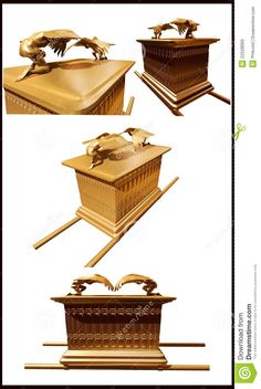 kjv+bible+illustrations+arc+of+the+covenant   ... or ark of the covenant created with the description and sizes told
