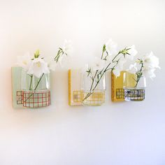 TREEO: modern cottage decor wall mount flower vases by PIGandFiSH on Etsy https://www.etsy.com/listing/77068731/treeo-modern-cottage-decor-wall-mount