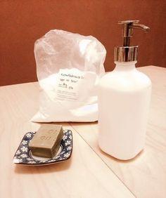 "Domácí ""jar"" na nádobí – Kosmetika hrou Soap Dispenser, Jar, Homemade, Chemistry, Behavior, Cleaning, Life, Ideas, Creative"