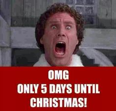 It seems to sneak up on us every year. Days Until Christmas, Christmas And New Year, All Things Christmas, Christmas Quotes, Christmas Humor, Sneaks Up, Winter Photos, The Elf, Beautiful Christmas