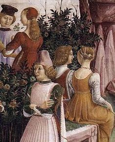 dressdiaries: 1470s gamurra
