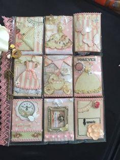 """Pocket letter by ilovepapillons """"Glenda"""" Pocket Pal, Pocket Cards, Atc Cards, Card Tags, Scrapbook Journal, Scrapbook Supplies, Pocket Scrapbooking, Candy Cards, Pocket Letters"""