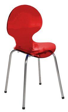 Cadeira Cindy Infantil vermelha