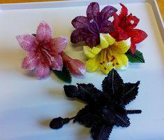 Розовая лилия и другие работы | biser.info - всё о бисере и бисерном творчестве