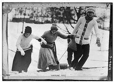 sledding 1910-1915