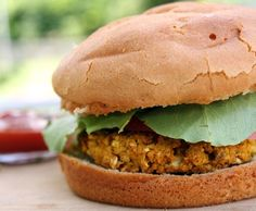 Chickpea Curry Burgers  sounds delish!