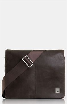 Free shipping and returns on KNOMO London 'Kilkenny' Messenger Bag (11 Inch) at Nordstrom.com. Exquisitely grained leather forms a compact messenger bag outfitted with sleek nickel hardware. $235