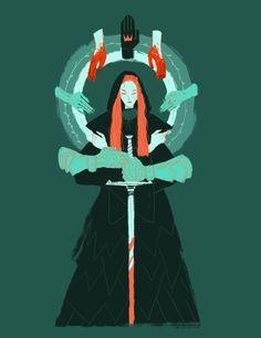 'Sansa Stark' by Juliette Brocal (cy-lindric) Character Concept, Character Art, Concept Art, Art And Illustration, Fantasy Kunst, Fantasy Art, Bel Art, Art Graphique, Pretty Art