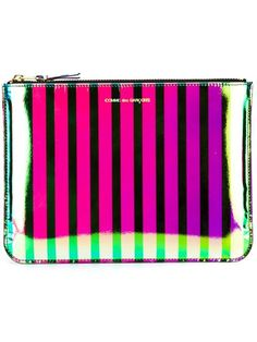 Compre Comme Des Garçons Wallet Clutch modelo 'Crazy Stripe' em WOK-store from the world's best independent boutiques at farfetch.com. Shop 300 boutiques at one address.