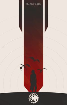 Game of Thrones, Targaryen Banner Created by Colin Morella