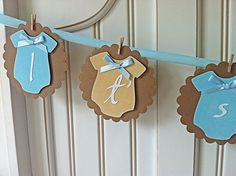 Baby Boy Onesies  Vintage Baby shower by TheCaterpillarsDream, $27.00