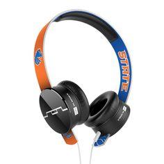 Tracks Collegiate On-Ear Headphones (Boise State University)