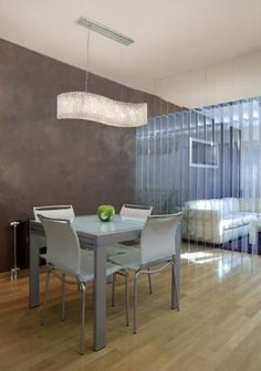 A Glittering Crystal Fixture Makes For Stunning Dining Room Lighting Is Traditionally Used In
