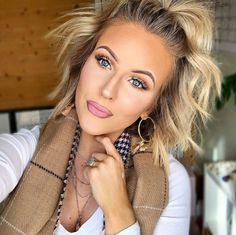Blonde Wigs Lace Hair Brown Wigs Blonde Bob With Bangs Asymmetrical Bo – cuminral Blonde Bob With Bangs, Brown Blonde Hair, Light Brown Hair, Blonde Wig, Brunette Hair, Short Human Hair Wigs, Short Hair Cuts, Wig Styles, Curly Hair Styles