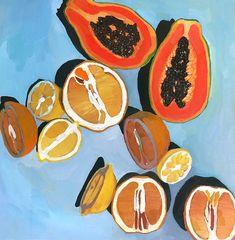 Fruit artwork nature 36 New Ideas Painting Inspiration, Art Inspo, Art Sketches, Art Drawings, Arte Alien, Posca Art, Plakat Design, Illustration Mode, Guache