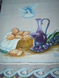 / Altar, Precious Jesus, Catholic Art, Corpus Christi, Communion, Tea Set, Tea Towels, Handicraft, Quilling