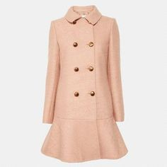 Justyna Chrabelska Moschino Cheap & Chic Flared Peacoat