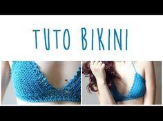 Tuto bikini au crochet pour l'été (haut) - YouTube