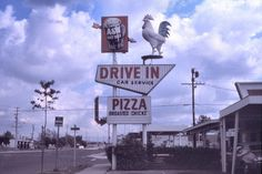 A&W Root Beer Drive-In, W. First St. at Daisy, Santa Ana, 1974