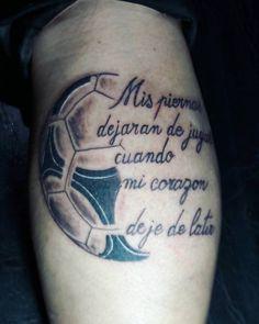Risultati immagini per tatuajes de balones de futbol 3d Tattoo Futbol, Soccer Tattoos, Sport Tattoos, Wolf Tattoos Men, Mens Lion Tattoo, Tiger Tattoo, Forearm Tattoo Men, Leg Tattoos, Tattoos For Guys