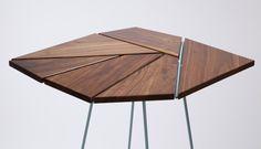 Fragment Table by Rita Rosenfeld, #furniture #design #table #mobilier #bois…