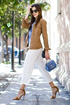 The Gummy Sweet ::: Fashion Blogger | Camel + Blue combo!