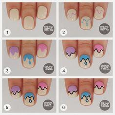 14 diseños de uñas: paso a paso