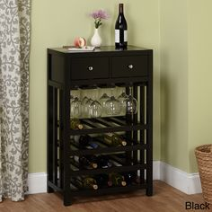 Simple Living Napa Wood 20-bottle Wine Tower   Overstock™ Shopping - Great Deals on Simple Living Wine Racks