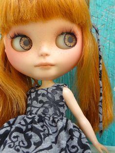 OOAK Custom Blythe doll -Linden by Marina nr 36