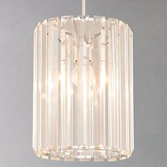 Buy John Lewis & Partners Frieda Easy-to-Fit Crystal Ceiling Shade from our Ceiling Lighting range at John Lewis & Partners. Crystal Ceiling Light, Ceiling Lights, Ceiling Materials, Cluster Lights, Ceiling Shades, Sparkling Lights, I Love Lamp, Light Fittings, Light Shades