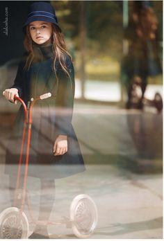 ALALOSHA: VOGUE ENFANTS: Autumn look: The Armani Junior campaign starring Kristina Pimenova