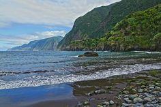 Seixal Beach - the closest beach to MadeiraCasa (www.madeiracasa,com) and Casa do Miradouro (www.casadomiradouro.com)