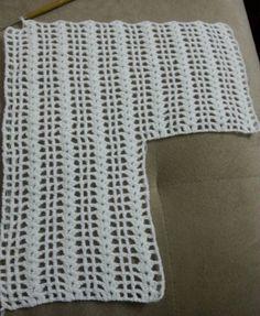 Gilet Crochet, Crochet Cardigan Pattern, Crochet Blouse, Crochet Patterns, Skirt Patterns, Coat Patterns, Blouse Patterns, Sewing Patterns, Crochet Basics