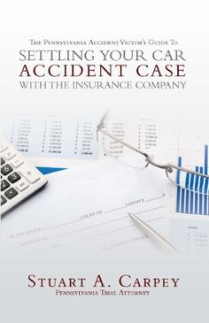 This book discusses how to go about handling and settling a personal injury case with an insurance company. Some smaller personal injury cases can, in fact, be resolved without the help of an attorney. Stuart A. Carpey discusses what type of cases might fit into that category, and provides... more details available at https://insurance-books.bestselleroutlets.com/insurance-laws/product-review-for-the-pennsylvania-accident-victims-guide-to-settling-your-car-accident-case-with-