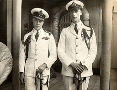 PW Edward VIII and Louis Montbatten