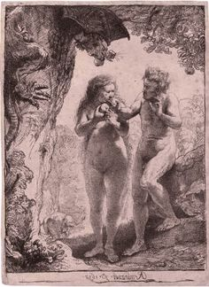 Adam and Eve - Rembrandt